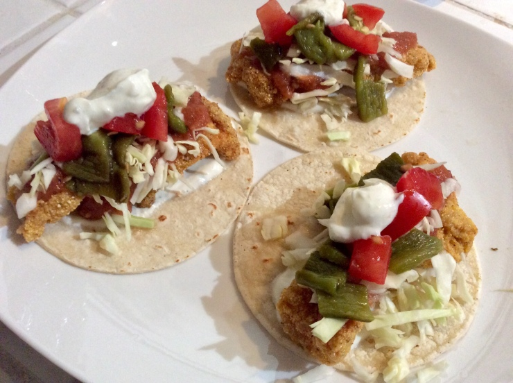 Crispy Crunchy Fish Tacos The I Love Food Diet